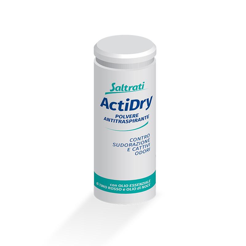 Polvere antitraspirante